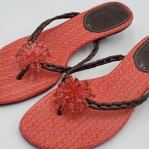 Cole Haan – Beaded Kitten Heel Sandals
